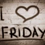 I Love Friday Concept — Stock Photo #48761417
