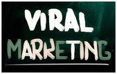Viral pazarlama kavramı — Stok fotoğraf