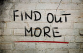 Find Out More Concept — Stock Photo
