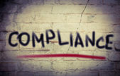 Compliance Concept — Stock Photo