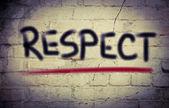 концепция уважения — Стоковое фото