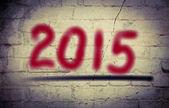 Bonne année 2015 concept — Photo