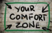 Your Comfort Zone Concept — Stock Photo