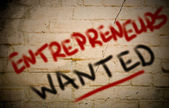 Entrepreneurs Wanted Concept — Stock Photo