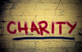 Charity Concept — Stock Photo