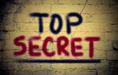 Top Secrect Concept — Stock Photo