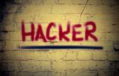 Hacker Concept — Stock Photo