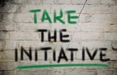 Take The Initiative Concept — Foto Stock