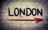 Koncepcja londyn — Zdjęcie stockowe
