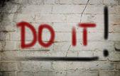 Do It Concept — Stock fotografie