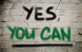 Yes You Can Concept — Stock fotografie
