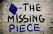 The Missing Piece Concept — Stockfoto