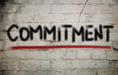 Commitment Concept — Stock Photo