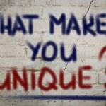 What Makes You Unique Concept — Stock Photo #50386285