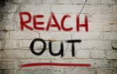 Reach Out Concept — Stockfoto