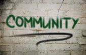 Notion communautaire — Photo