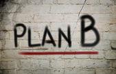 Plan B Concept — Stock Photo