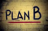 Notion de plan b — Photo