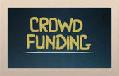 Crowd Funding Concept — Stock Photo