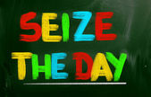 Seize The Day Concept — Stock Photo