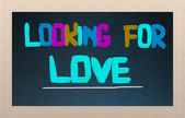 Looking For Love Concept — Stock Photo