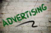 Advertising Concept — Stock Photo