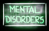 Mental Disorders Concept — Stock Photo