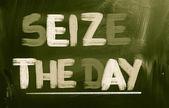 Seize The Day Concept — Stock Photo
