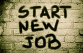 Start New Job Concept — Stock Photo