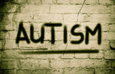 Autism Concept — Stock Photo