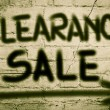 Clearance Sale Concept — Stock Photo #51169307