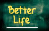 Besser leben-konzept — Stockfoto
