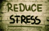 Reduce Stress Concept — Stock Photo