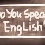 Do You Speak English Concept — Stock Photo #51519327