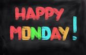 Happy Monday Concept — Photo