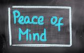Piece Of Mind Concept — Photo