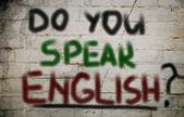 Do You Speak English Concept — Foto Stock