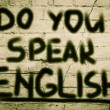 Do You Speak English Concept — Stock Photo #51559665