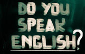 Do You Speak English Concept — 图库照片