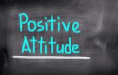 Positive Attitude Concept — Stockfoto