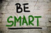 Essere intelligente concetto — Foto Stock