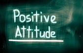 Positive Attitude Concept — Stock Photo