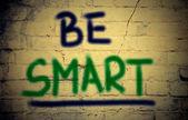 Be Smart Cocept — Stock Photo