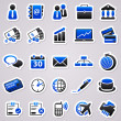 Royalty-Free Stock Imagen vectorial: Sticker set: business