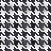 Houndstooth texture — Stock Vector