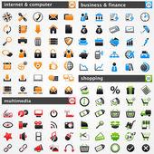Ensemble d'icônes — Vecteur