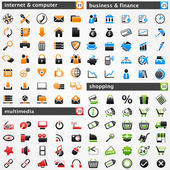 Icons set — Vettoriale Stock