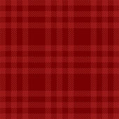 Plaid fabric. — Stock Vector