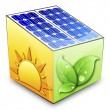 Royalty-Free Stock Vector Image: Solar energy concept