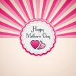 Mother's Day Background — Stock Vector